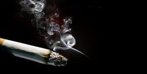 Amarre con cigarro
